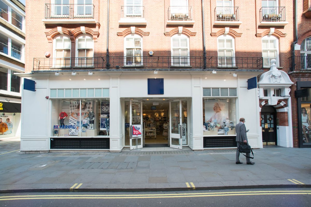 Storefront listing Long Acre, Covent Garden Pop Up Boutique in Covent Garden, London, United Kingdom.
