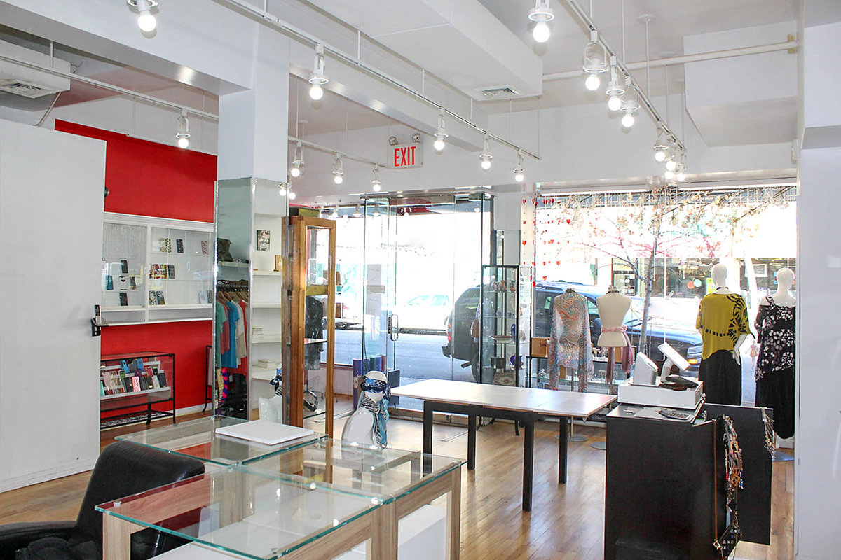 Storefront listing Beautiful Pop Up Shop in Queens in LeFrak City, New York, United States.