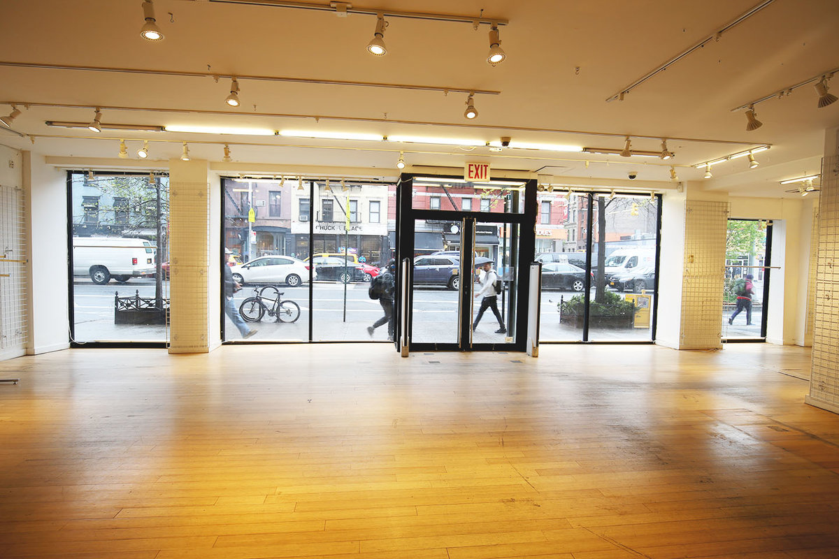 Storefront listing Prime Retail Unit in Chelsea in Chelsea, New York, United States.