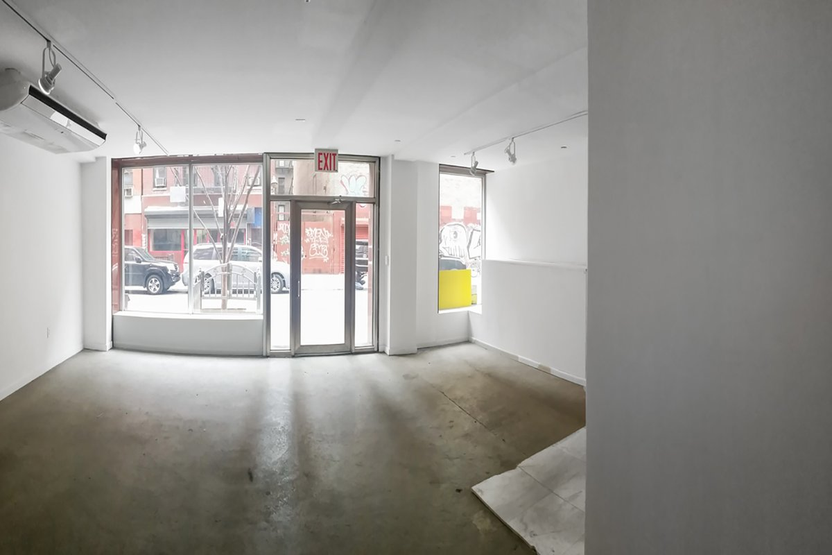 Storefront listing LES Boutique Retail Space in Chinatown, New York, United States.