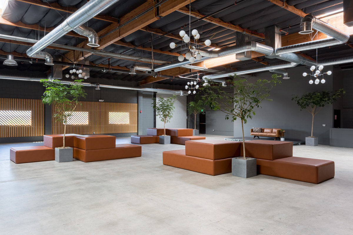 Storefront listing Flexible Event Spaces in Culver City in Culver City, Culver City, United States.
