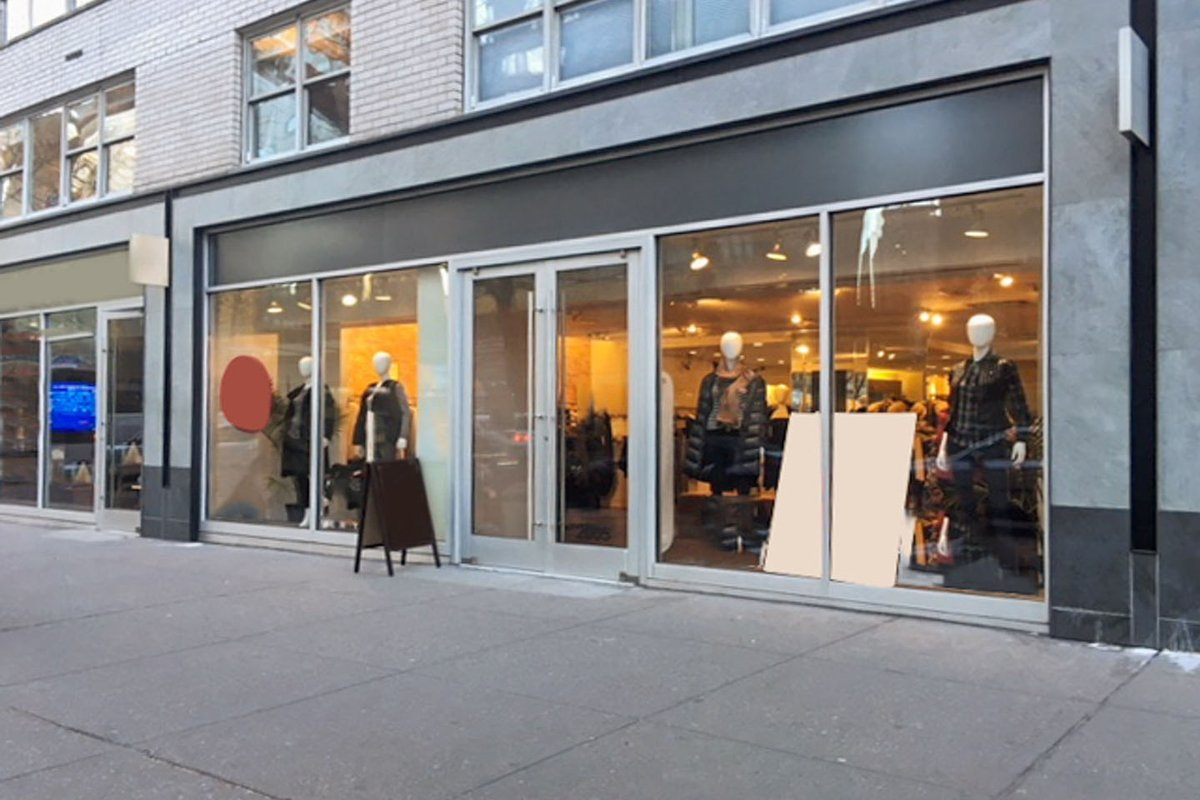 Storefront listing Upper West Side Pop-Up Space in Upper West Side, New York, United States.