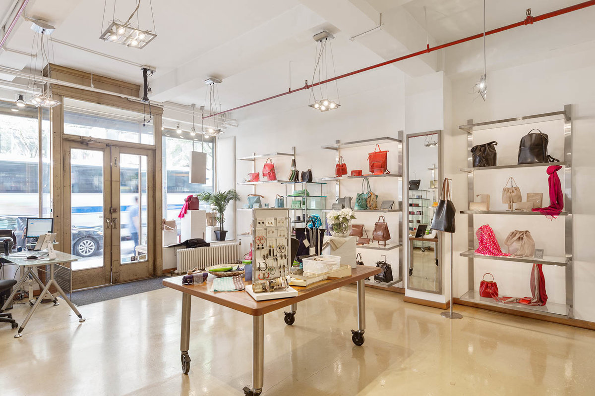 Storefront listing Amazing Chelsea Retail Space in Chelsea, New York, United States.