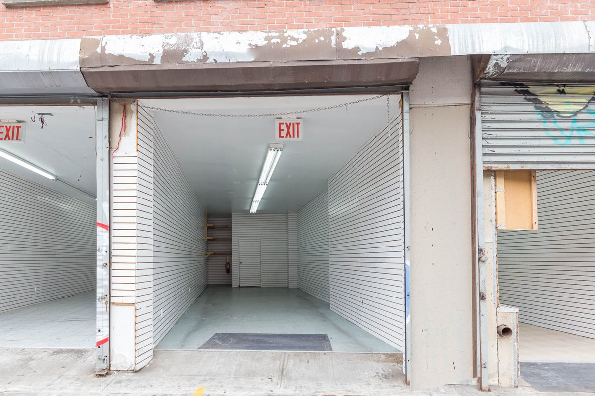 Storefront listing Bare Pop-Up Space in SoHo in SoHo, New York, United States.