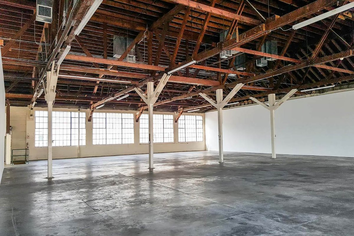 Storefront listing Exquisite Gallery Space in Central LA, Los Angeles, United States.