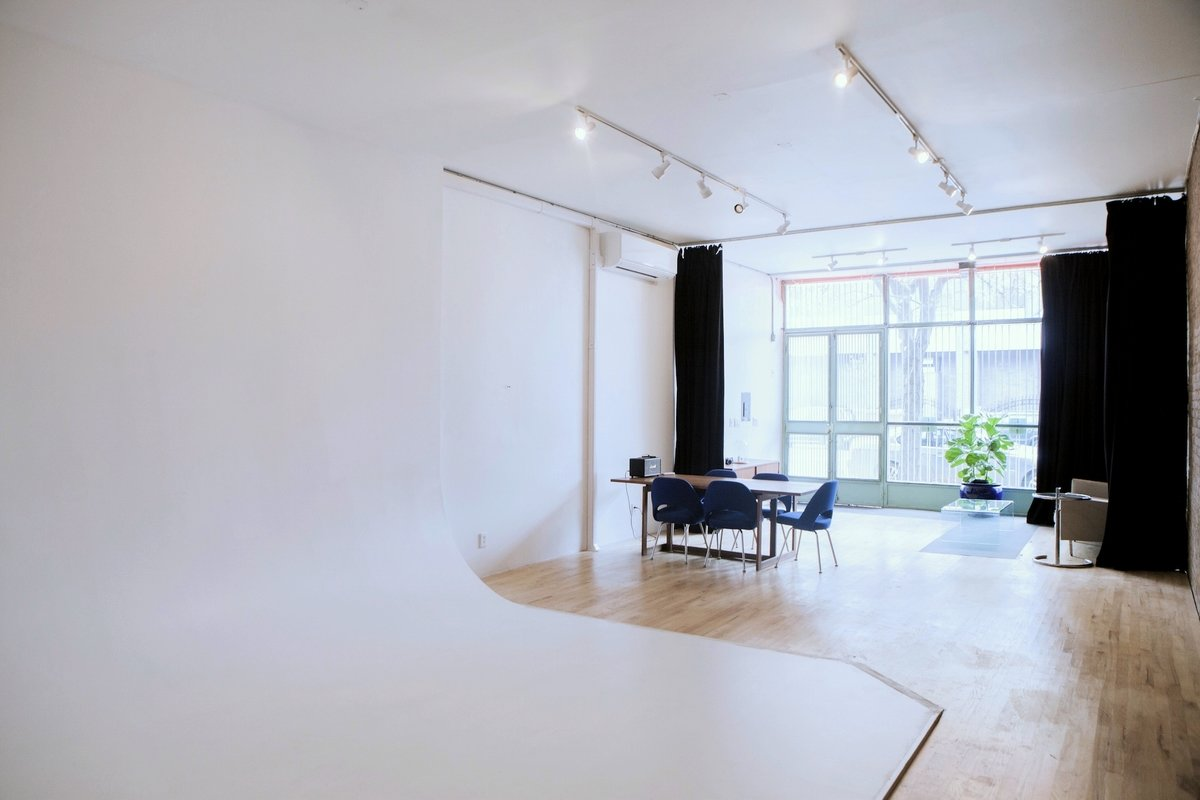 Storefront listing Multi-Use Studio Space in Williamsburg in South Side, New York, United States.