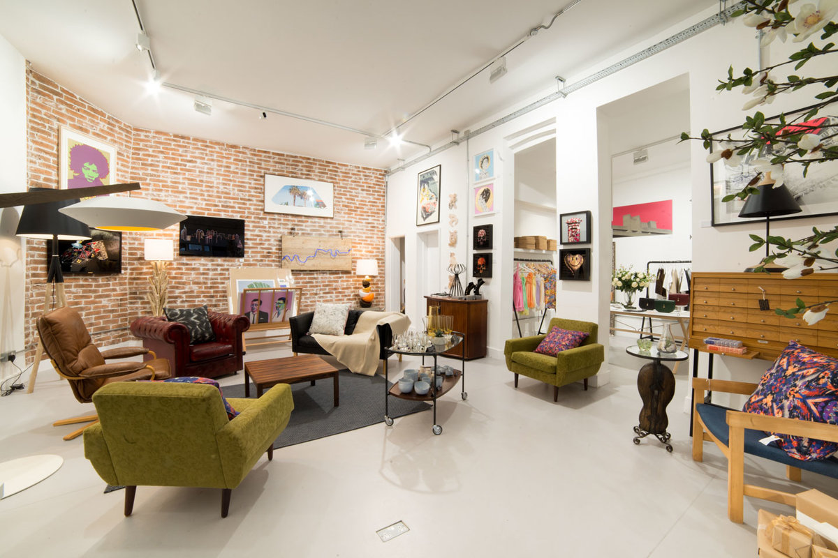 Storefront listing Contemporary Hackney Venue, London, United Kingdom.