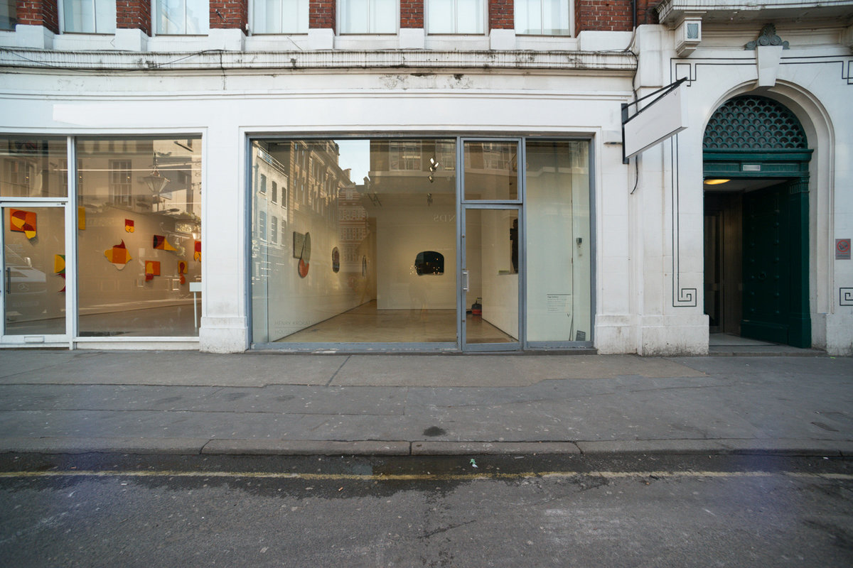 Storefront listing Modern Mayfair Gallery in Mayfair, London, United Kingdom.