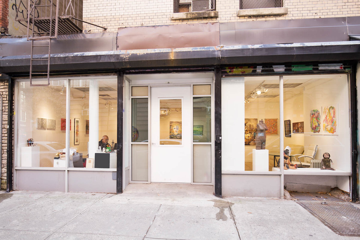Storefront listing Gallery Space in Lower East Side in Bowery, New York, United States.