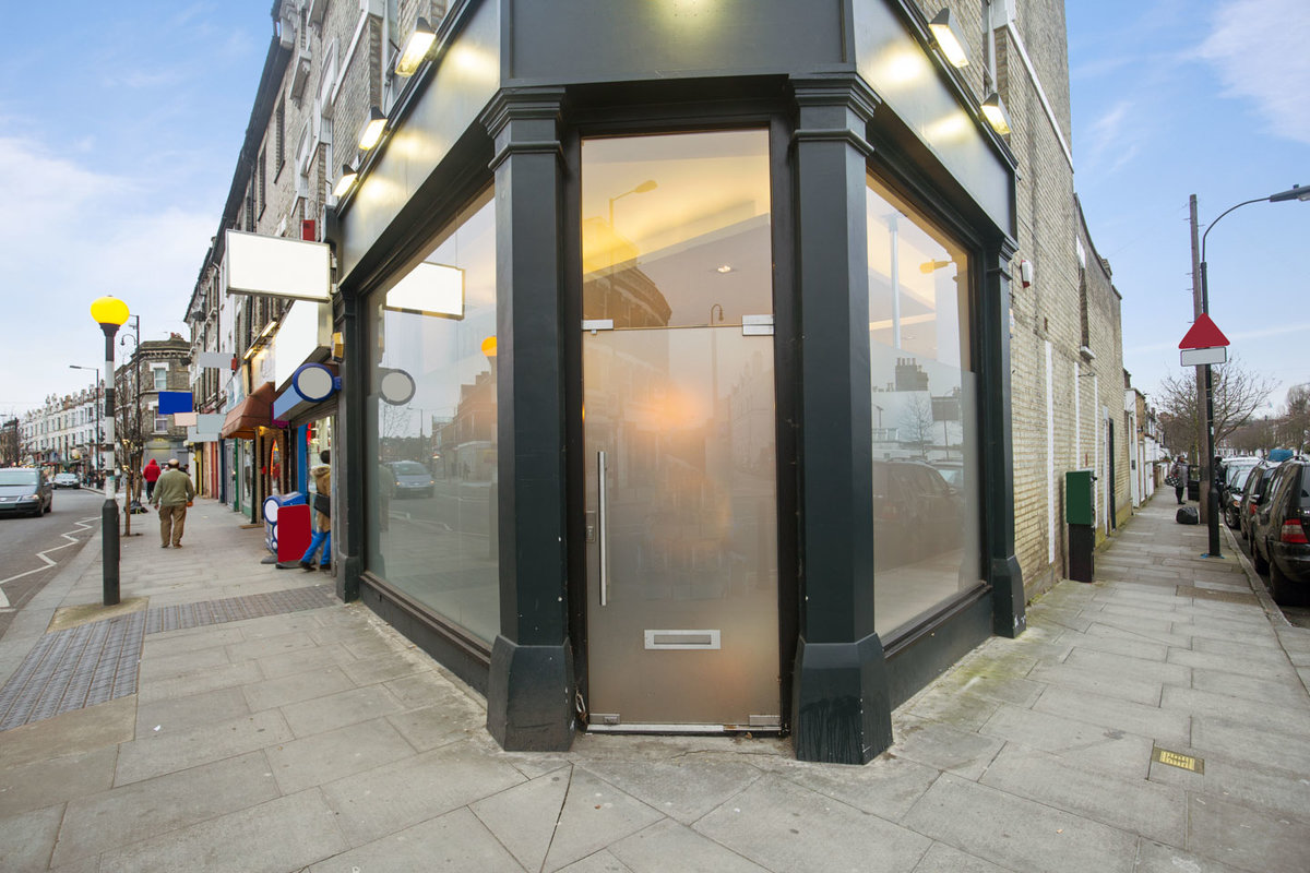 Storefront listing Sleek Shop Space In Shepherd's Bush in Sheperds Bush, London, United Kingdom.