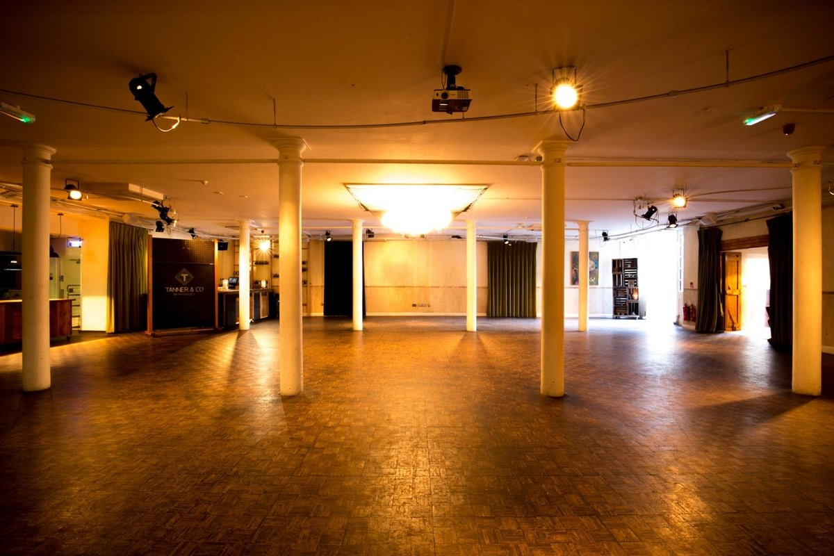 Storefront listing Unique Event Space in Southwark in Southwark, London, United Kingdom.