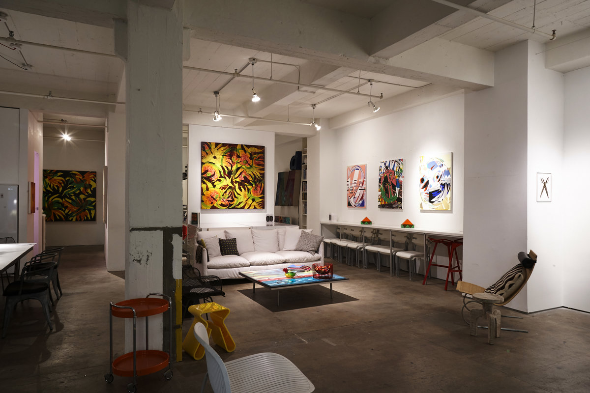 Storefront listing Artist's Loft in Chelsea in Chelsea, New York, United States.