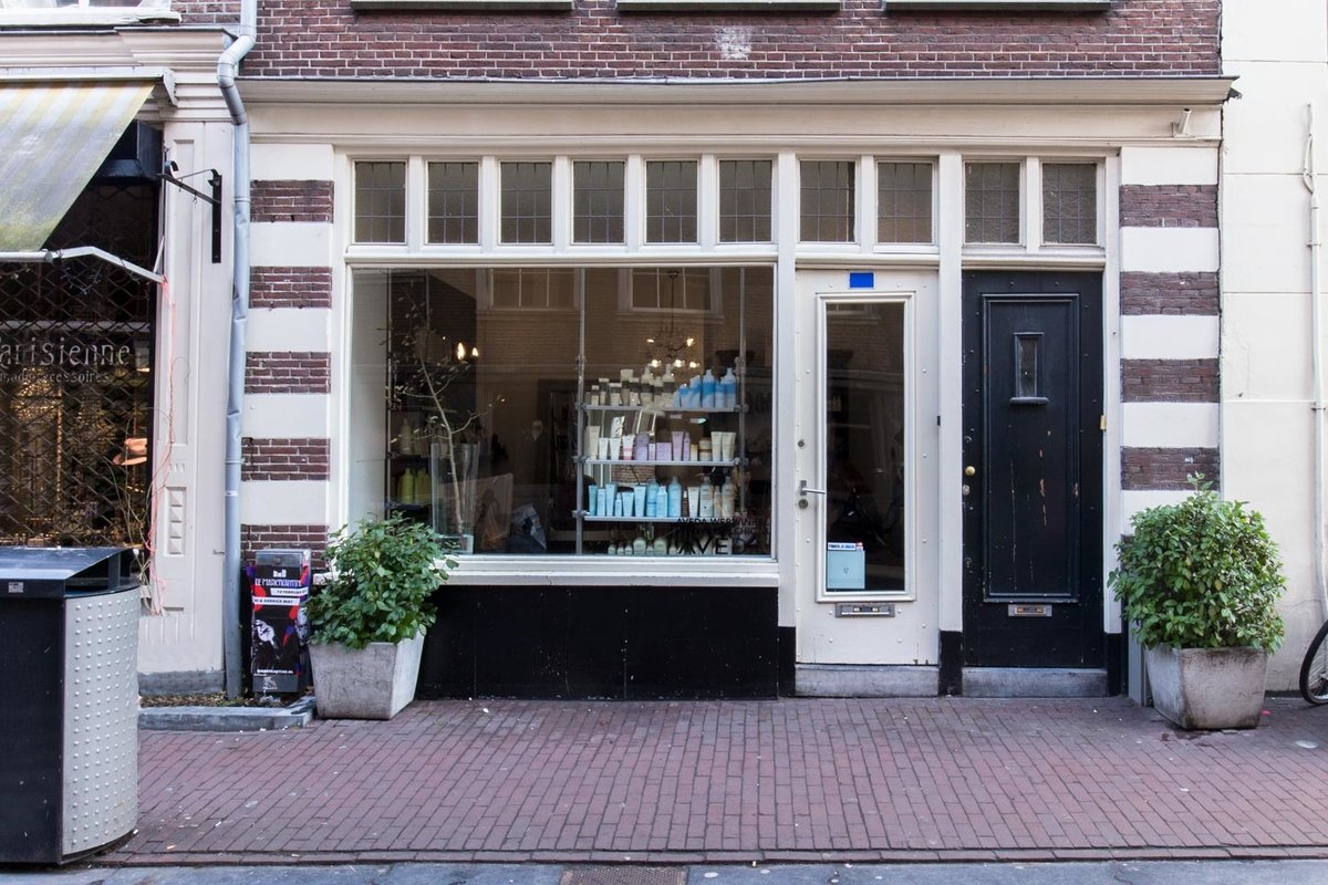 Storefront listing Cosy Pop-Up Shop in Nine Streets, Amsterdam, Netherlands.