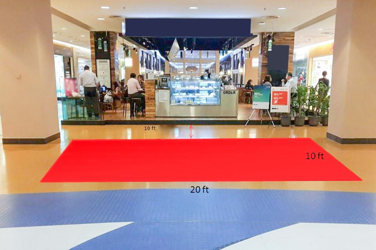Storefront listing Kiosk, Lower Ground Floor 1 of a Mall in Sunway City, Selangor, Malaysia.