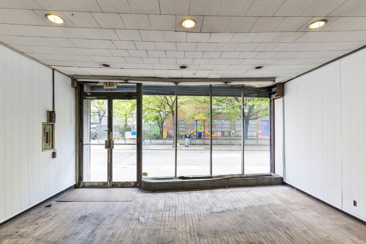 Storefront listing Raw Retail Space in LES in Lower East Side, New York, United States.