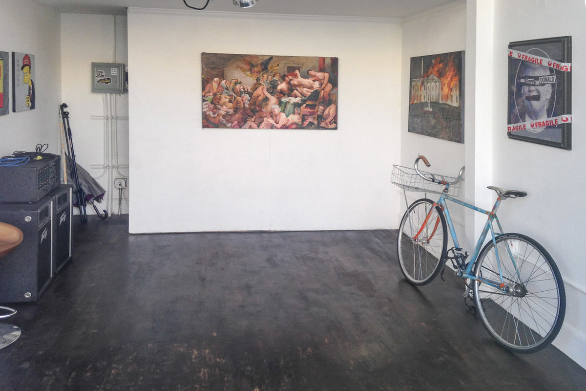 位於United StatesOaklandDowntown Oakland的Pop-Up Gallery in Oakland