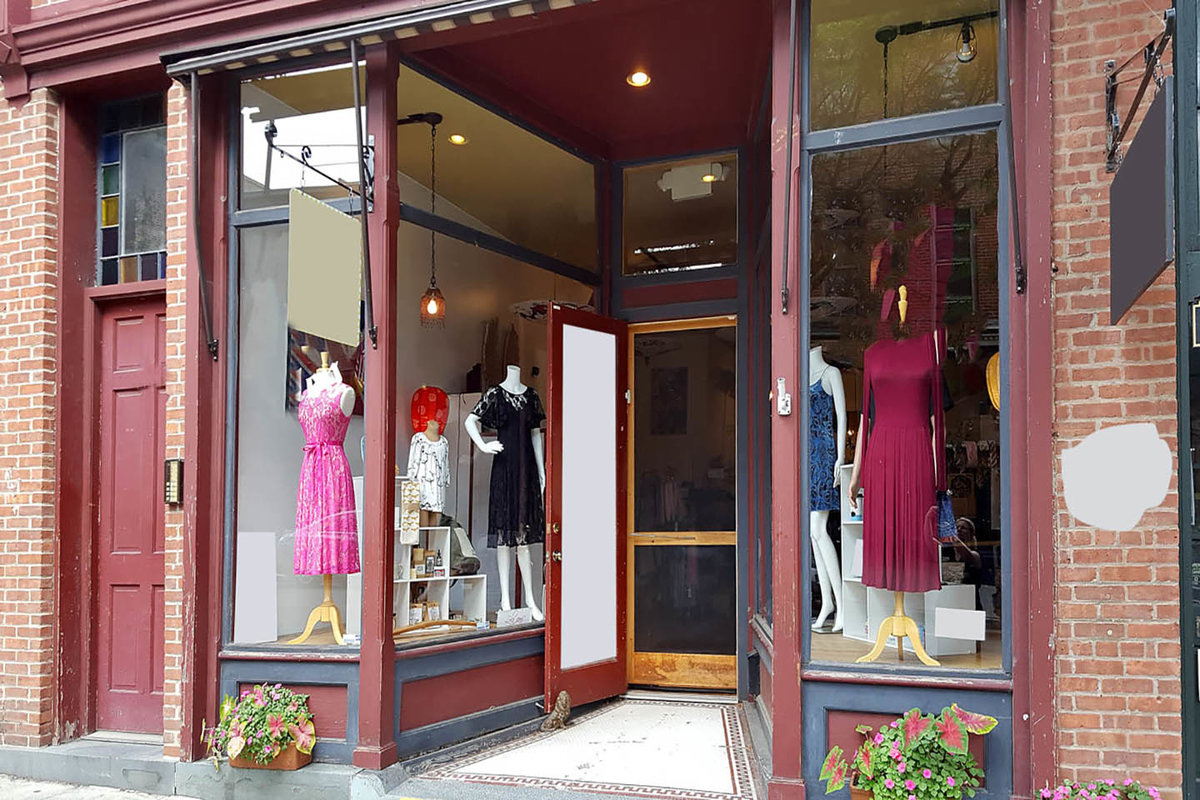 Storefront listing Pop-Up Shop in Beacon, Beacon, United States.
