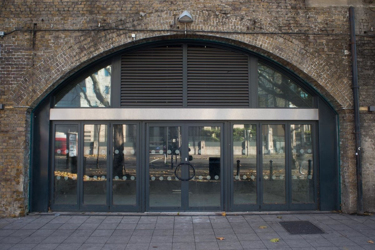 Storefront listing Unique space in Vauxhall, London, United Kingdom.