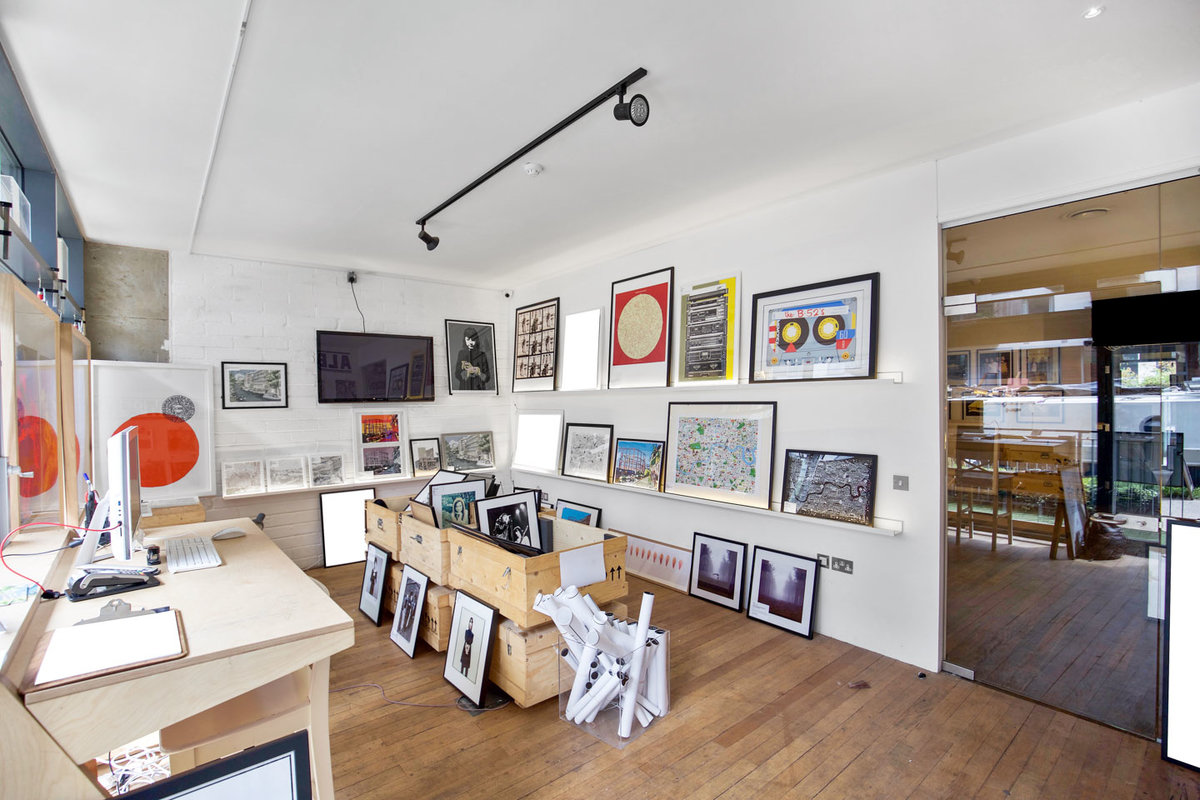 Storefront listing Art Gallery Space in Edmonton in Edmonton, London, United Kingdom.