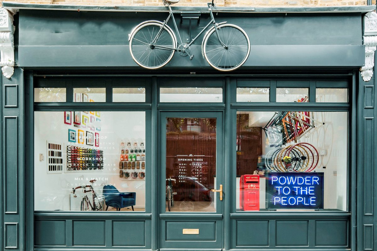 Storefront listing Beautiful Bike Shop in Shoreditch, London, United Kingdom.