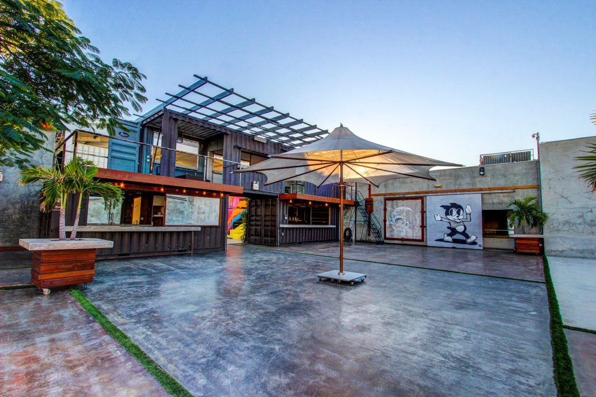 Storefront listing Outdoor Studio and Event Space in Wynwood in Wynwood, Miami, United States.
