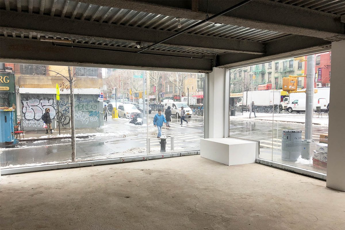 Storefront listing Pop-Up In This Prime Retail Space in LES in Lower East Side, New York, United States.