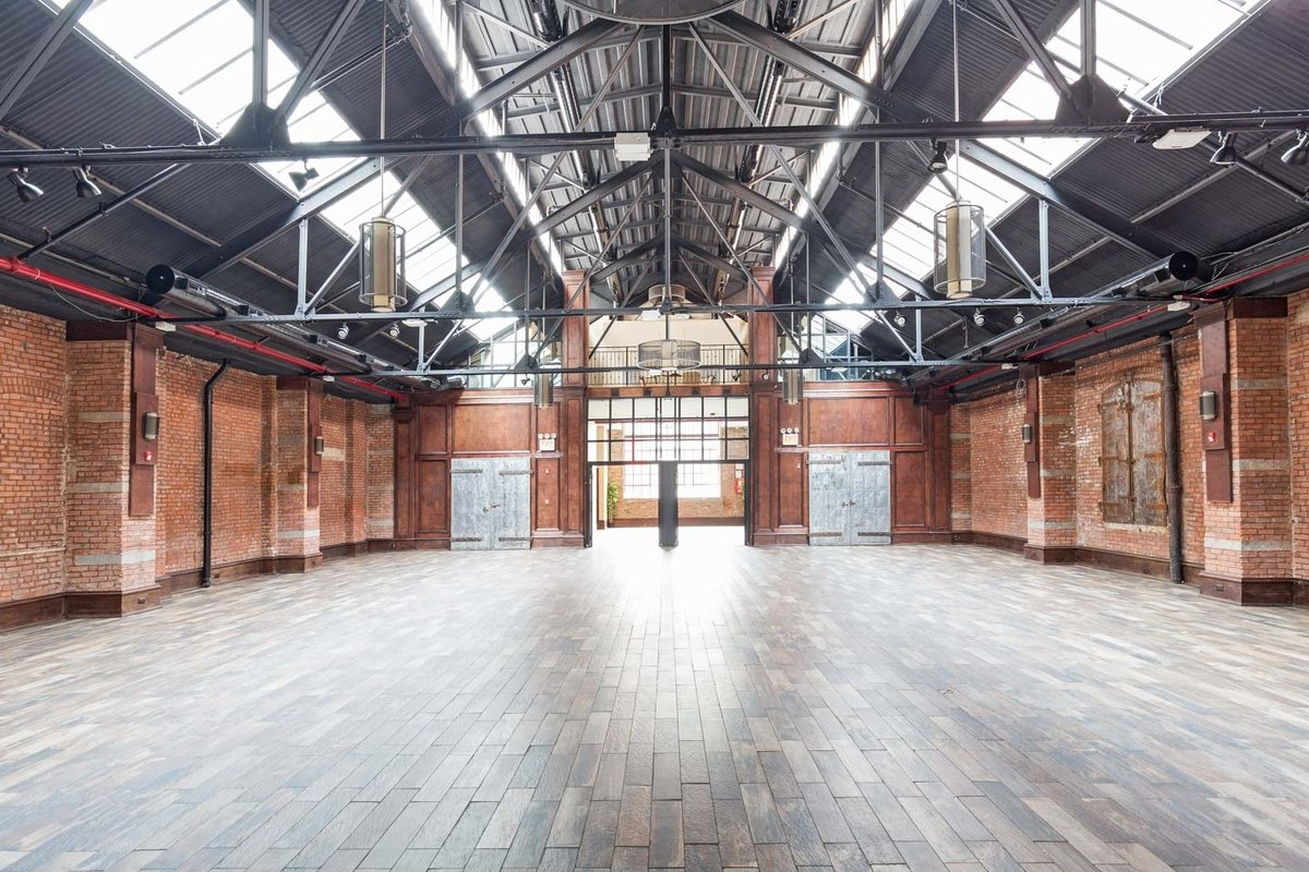 Storefront listing Prime Event Space in DUMBO in Dumbo, New York, United States.