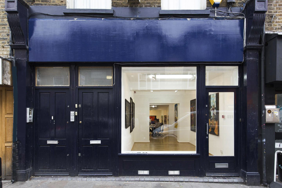 Storefront listing Prime Location East End Space in Shoreditch, London, United Kingdom.