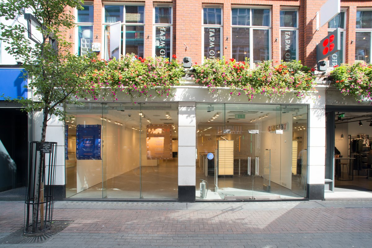 Storefront listing Carnaby Street Pop Up Boutique in Soho, London, United Kingdom.