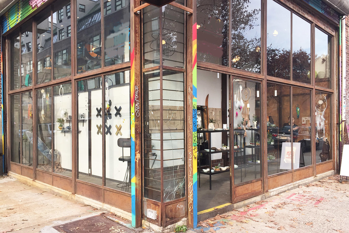 Storefront listing Pop-Up Space in Williamsburg in Williamsburg, Brooklyn, United States.