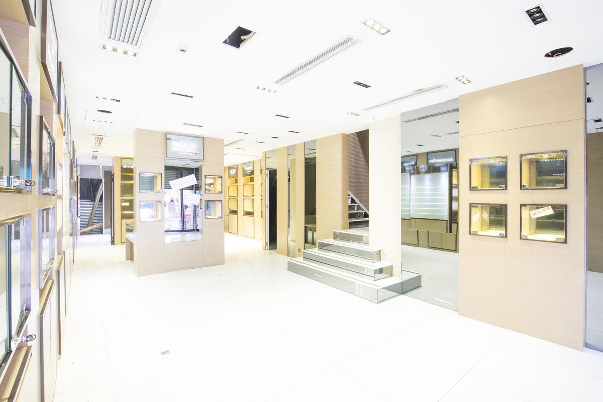 Storefront listing Grand Shop in the Centre of TST in Tsim Sha Tsui, Hong Kong, Hong Kong.