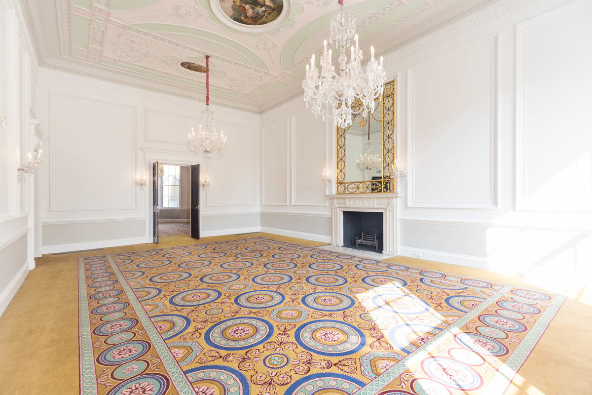 Storefront listing Opulent Venue in Fitzrovia in Marylebone, London, United Kingdom.