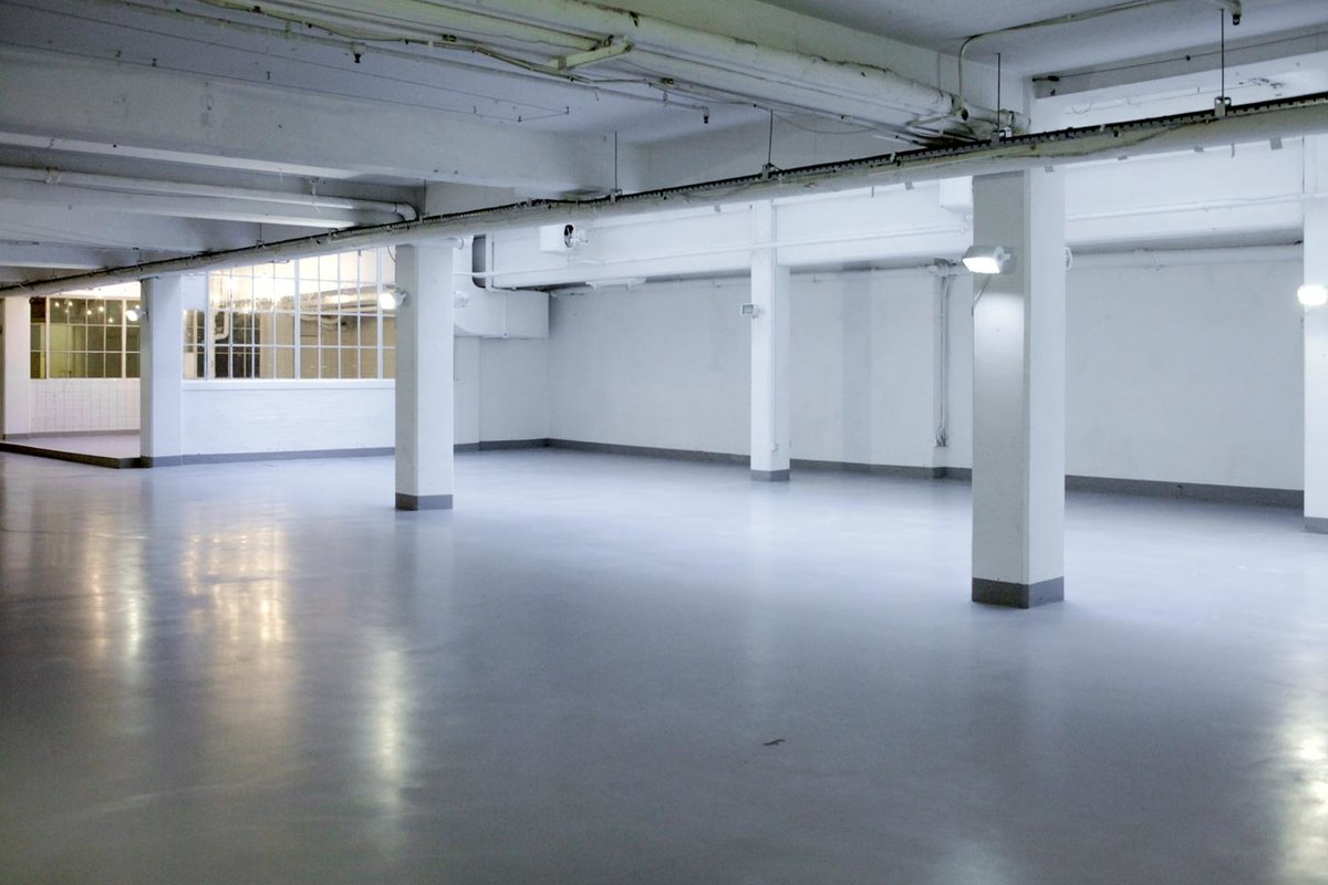 Storefront listing Industrial Event Space in Soho in Soho, London, United Kingdom.