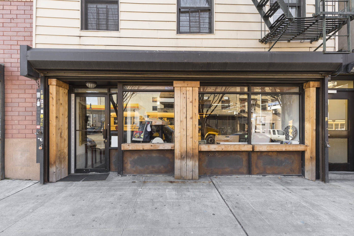 Storefront listing Creative Clinton Hill Retail Space in Clinton Hill, New York, United States.