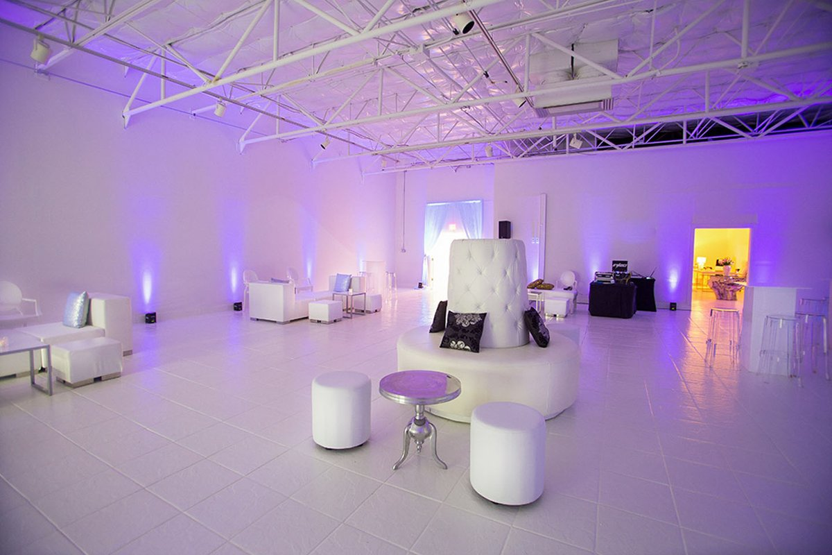 Storefront listing Blank canvas event venue in the heart of Dallas Design District in Design District, Dallas, United States.
