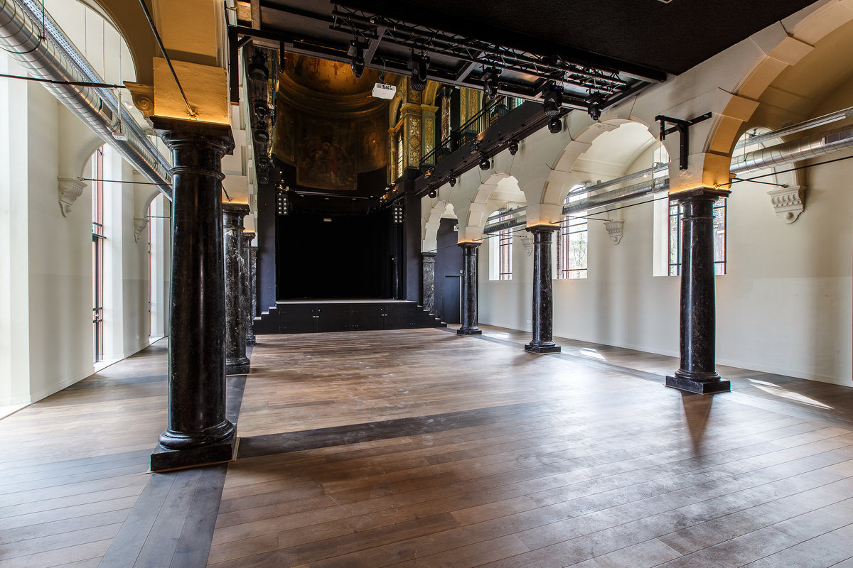 Storefront listing Amazing Venue in Prestigious East in Oosterparkbuurt, Amsterdam, Netherlands.