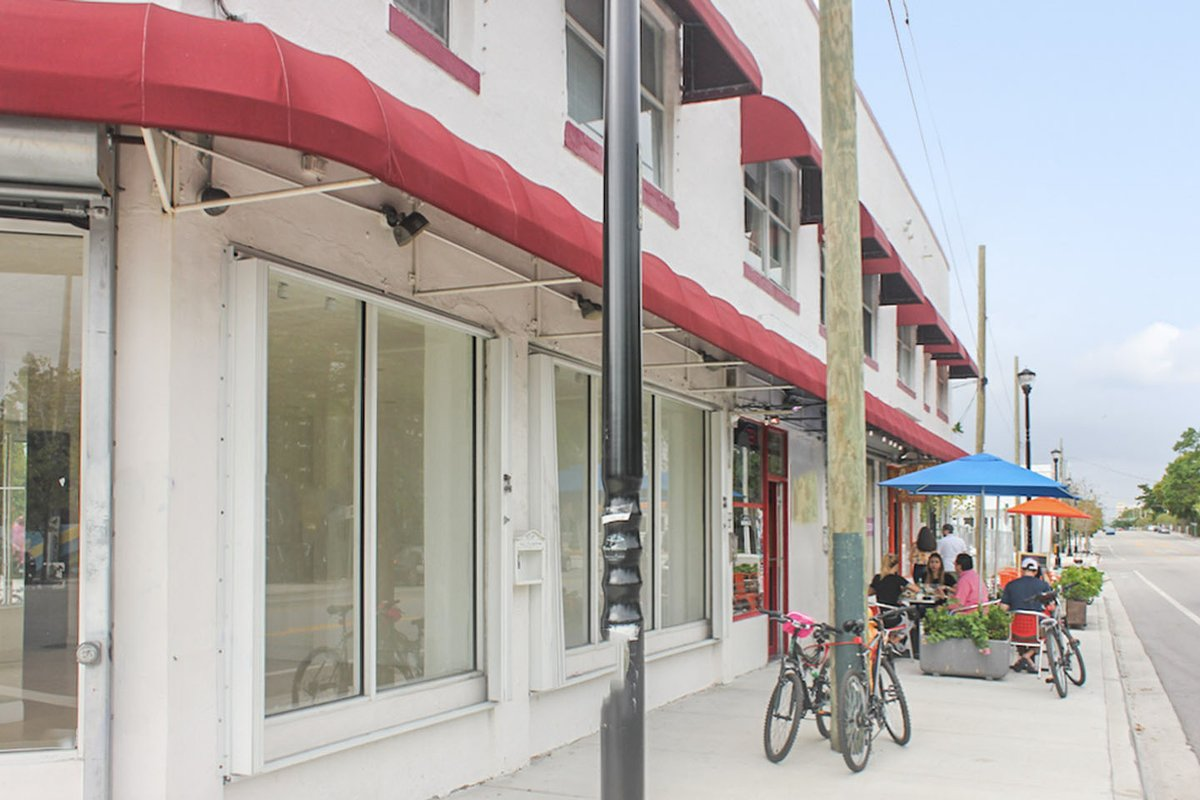 Storefront listing Prime Buena Vista Pop Up Location in Design District, Miami, United States.