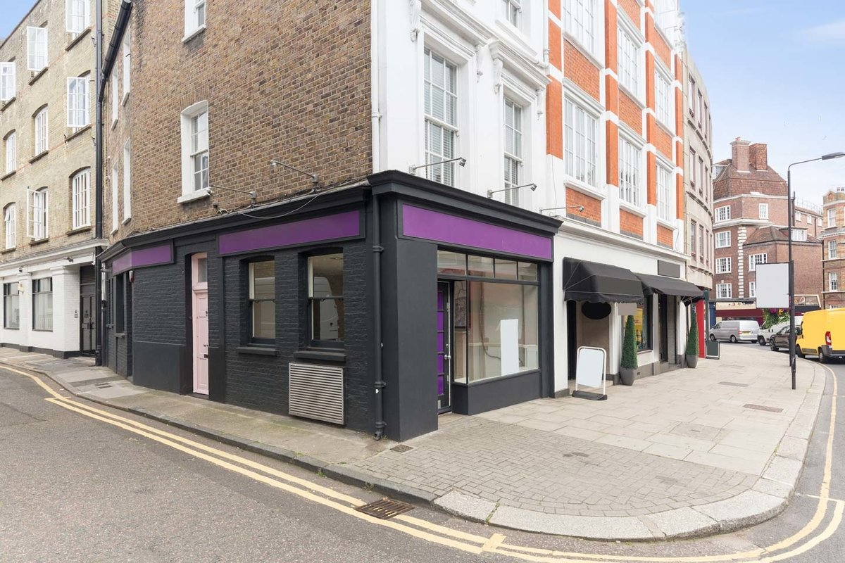 Espace Storefront Kensington Pop-Up Retail Space dans Kensington, London, United Kingdom.