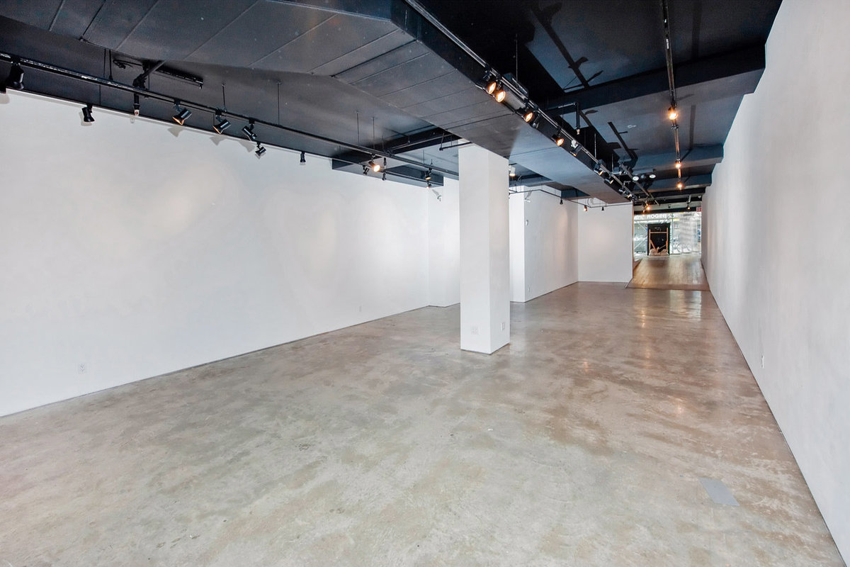 Storefront listing Showroom Space in Lower Manhattan in Lower East Side, New York, United States.
