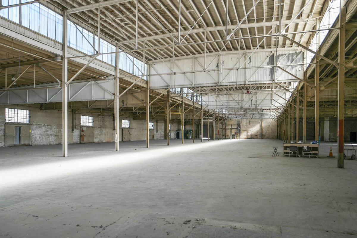 Storefront listing South LA Warehouse Space in South Los Angeles, Los Angeles, United States.
