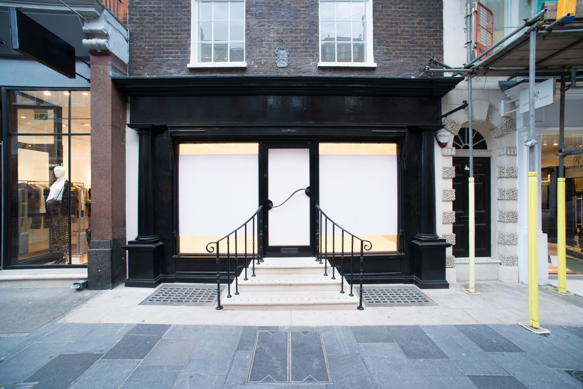 Storefront listing Prime South Molton Street Boutique in Mayfair, London, United Kingdom.