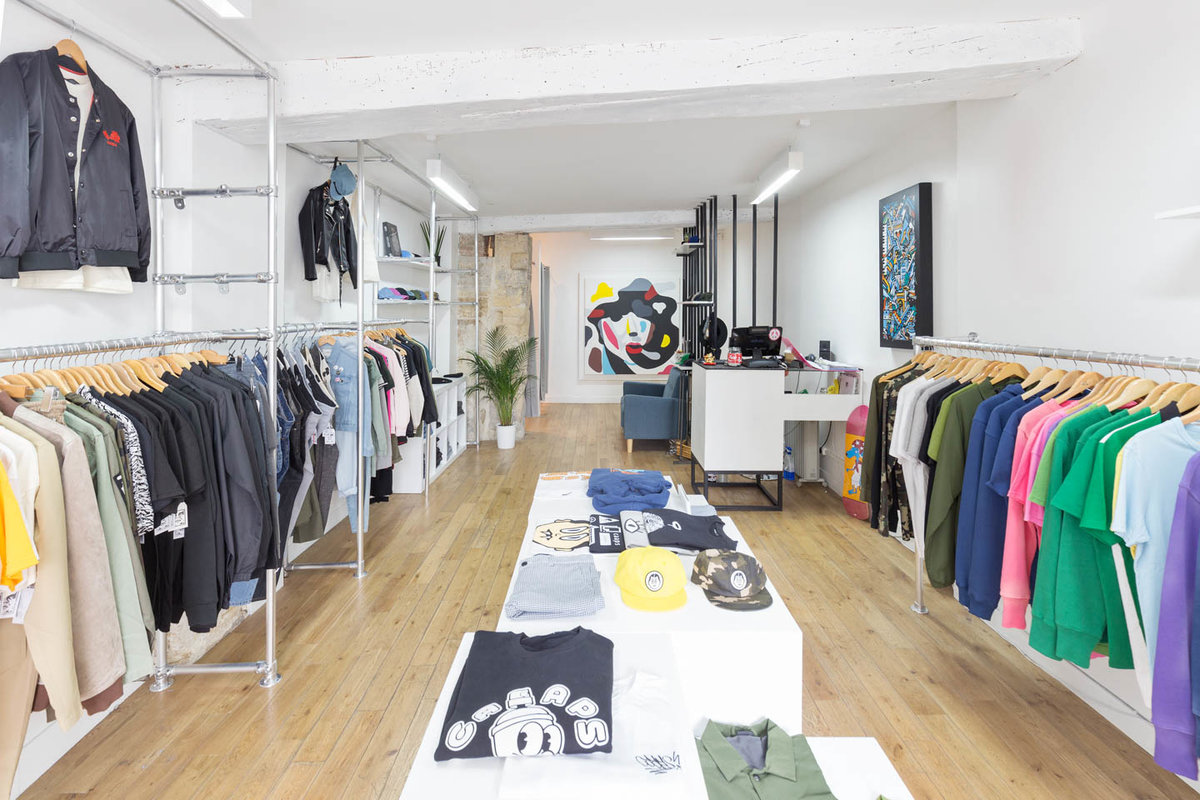 位於FranceParis的Pop-Up Boutique in Étienne Marcel