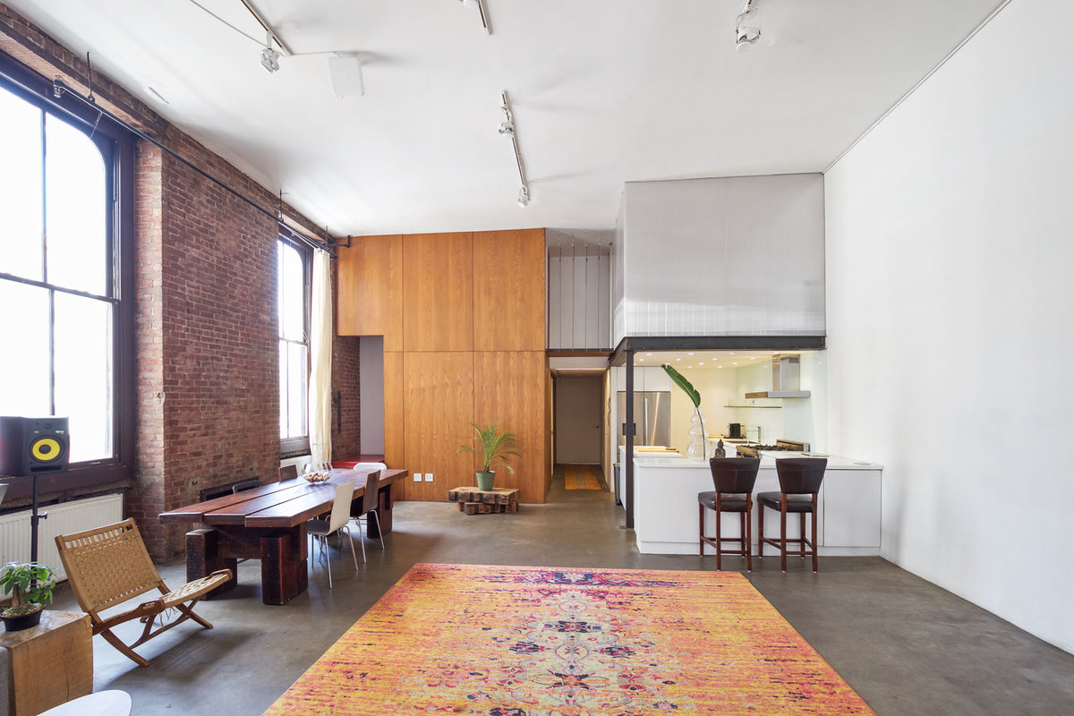 Storefront listing Modern Event Space Tribeca Loft in Tribeca, New York, United States.