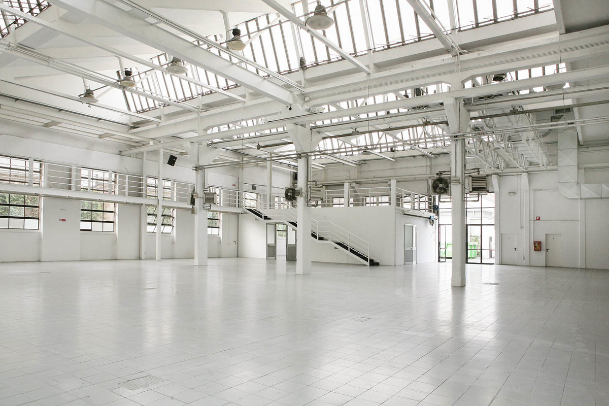 Storefront listing Event Space Close to Porta Genova, Milan, Italy.
