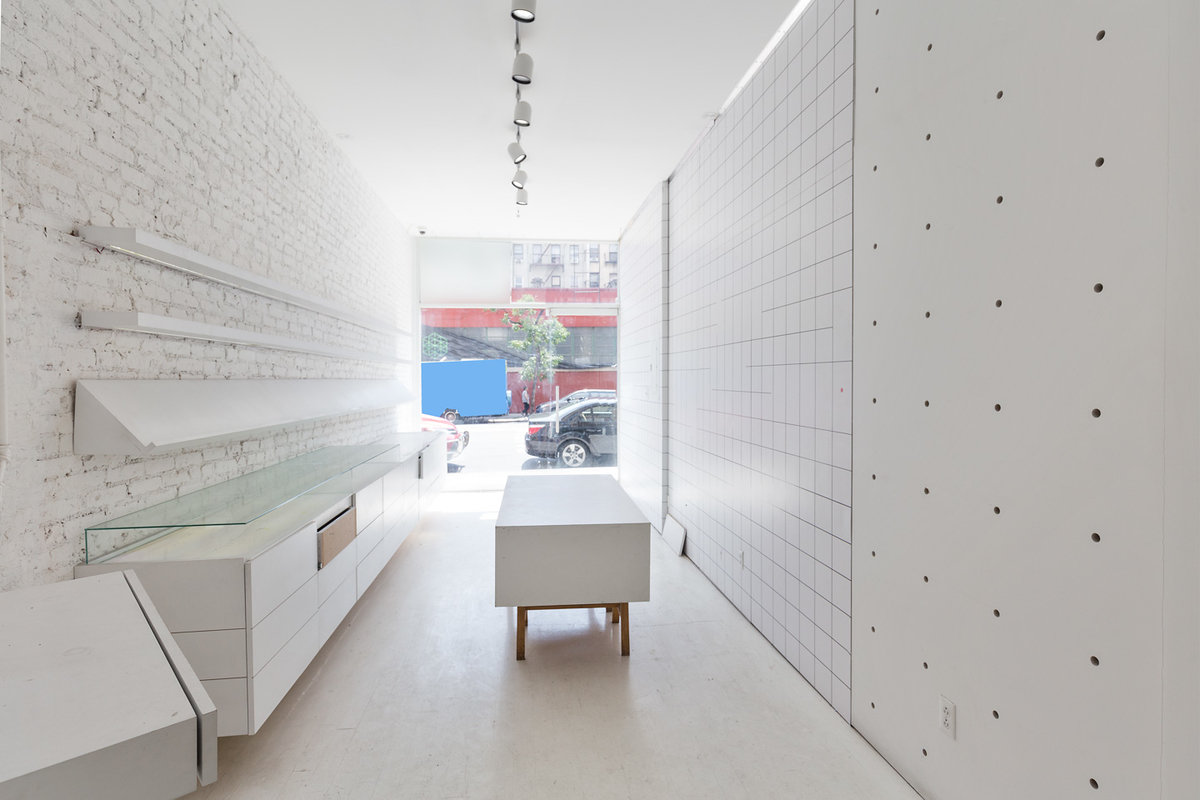 Storefront listing White-Box LES Retail Pop-Up in Lower East Side, New York, United States.