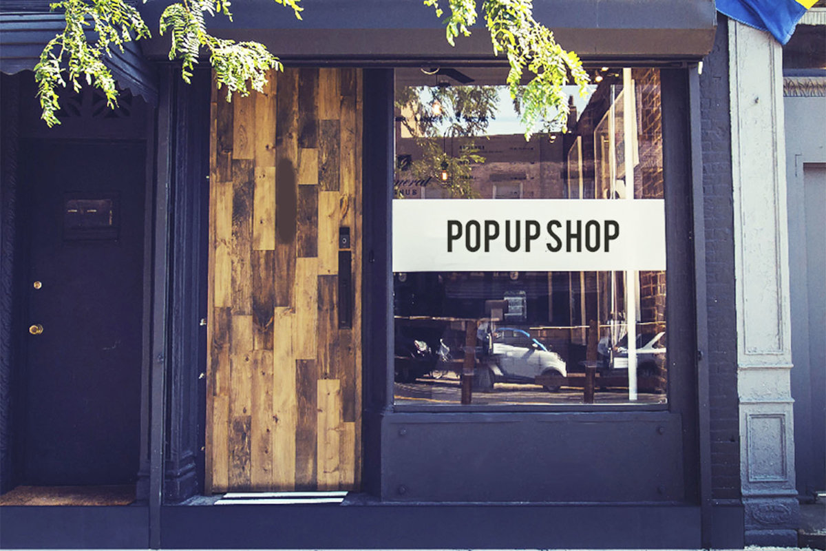 Storefront listing Pop-Up Shop in Vibrant Williamsburg in Williamsburg, New York, United States.
