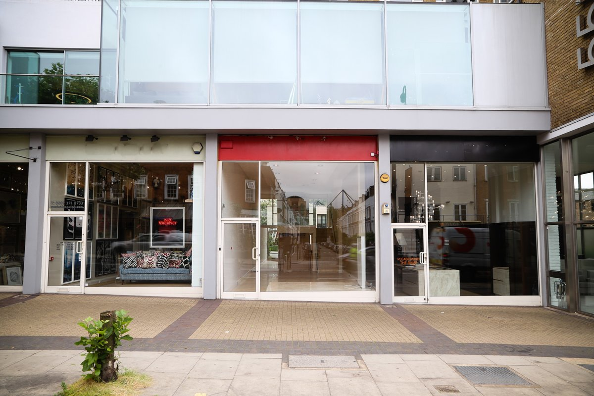 Storefront listing Chelsea Design Quarter Showroom Space in Chelsea, London, United Kingdom.