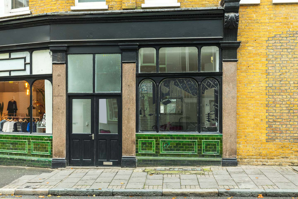 Storefront listing Pop-Up Space in Shoreditch in Shoreditch, London, United Kingdom.