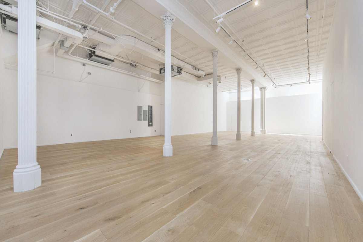 Storefront listing Incredible Tribeca Pop-Up Space in Tribeca, New York, United States.