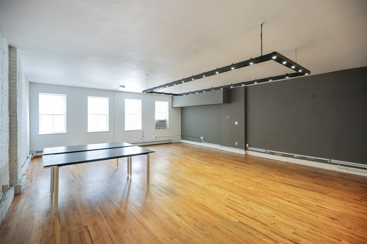 Storefront listing Open Layout SoHo Loft in Lower Manhattan, New York, United States.